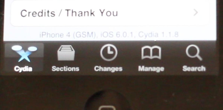 How to jailbreak iOS 6 0 1