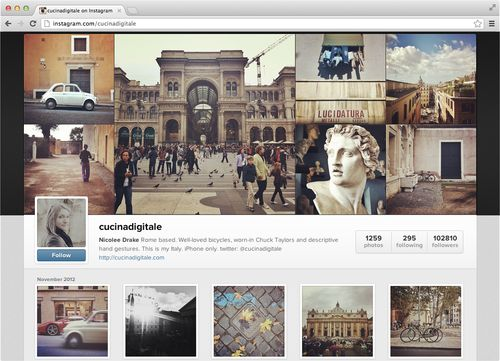 Instagram web profile (screenshot 003)