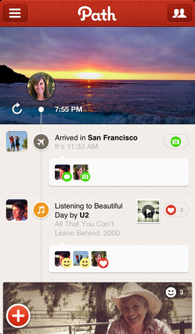 Path 2.5.6 for iOS (iPhone screenshot 001)