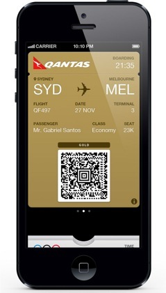 Qantas Confirms Passbook Support For Boarding Passes In Australia