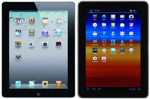 ipad galaxy tab 10
