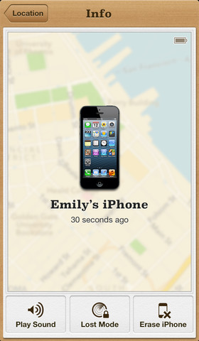 Find My iPhone 2.0.1 for iOS (iPhone screenshot 003)