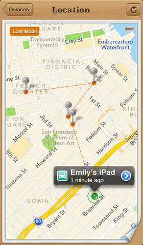 Find My iPhone 2.0.1 for iOS (iPhone screenshot 005)