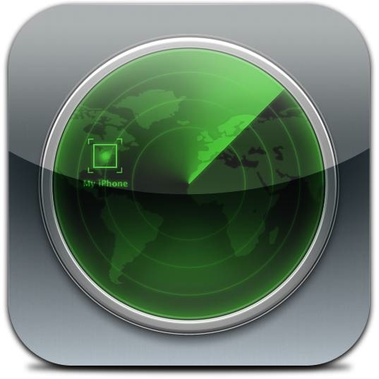 Find My iPhone for iOS (app icon, full-size)