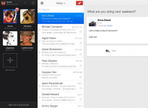 Gmail 2.0 for iOS (iPad screenshot 002)