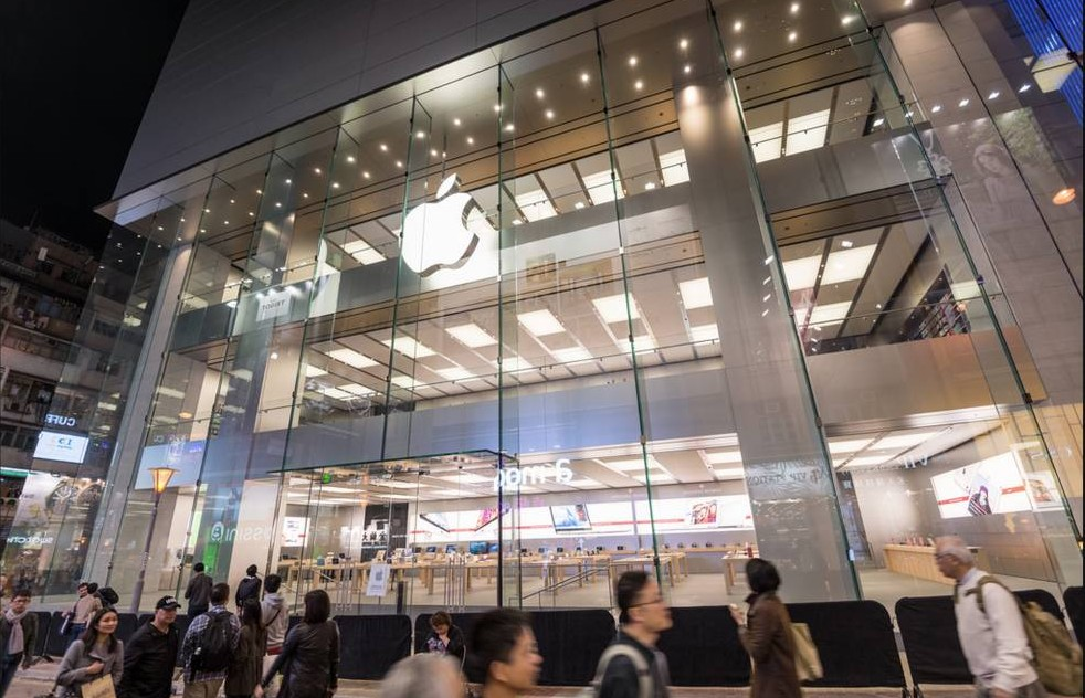 Hong Kong Apple Store (Hysan Place Apple, exterior 002)