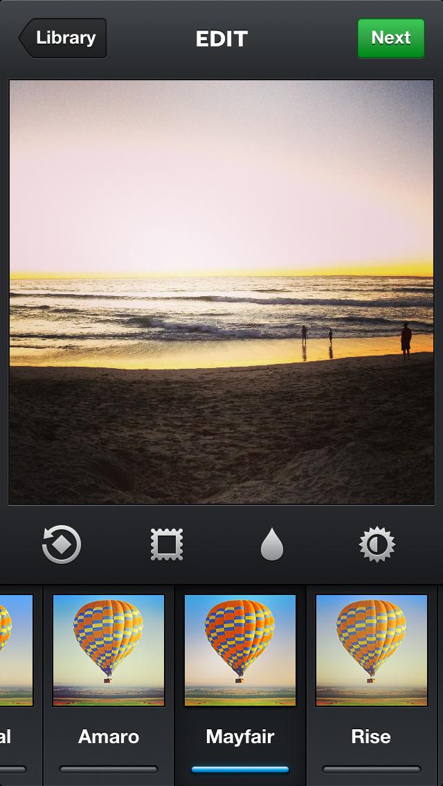 Instagram Mayfair filter