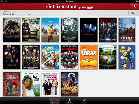Redbox Instant 1.0 for iOS (iPad screenshot 003)