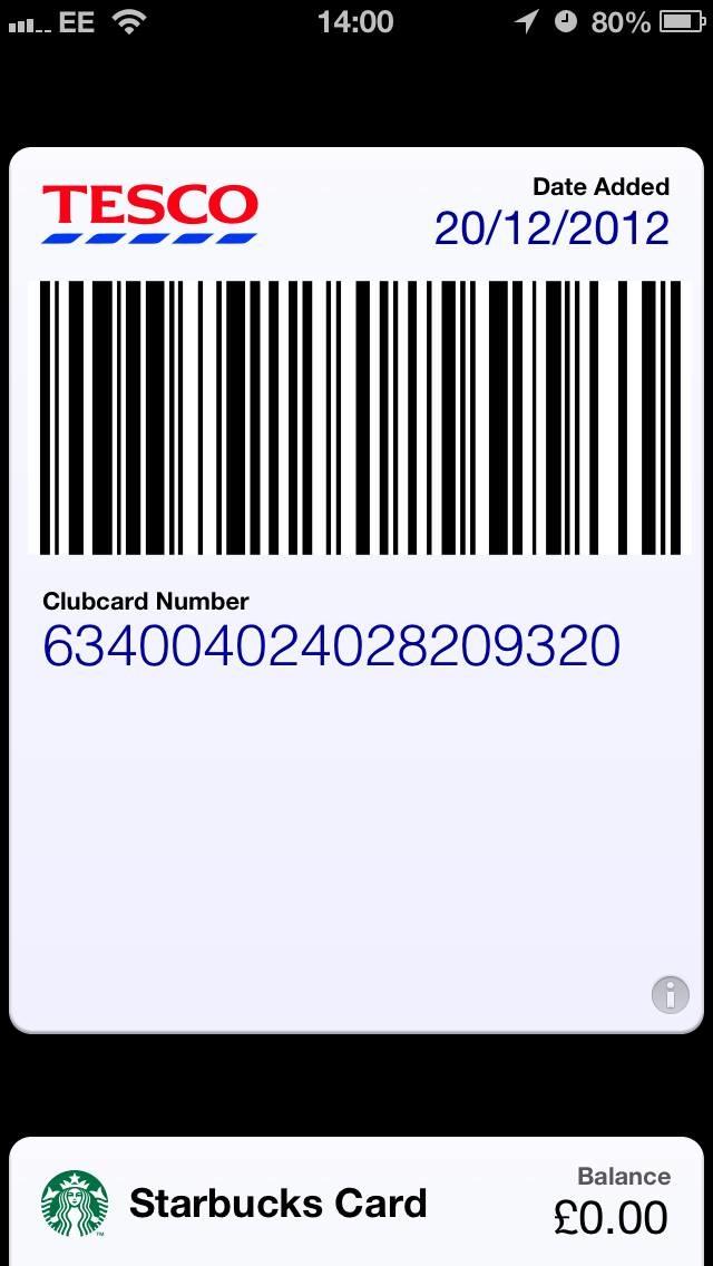 Tesco Passbook (image 002)