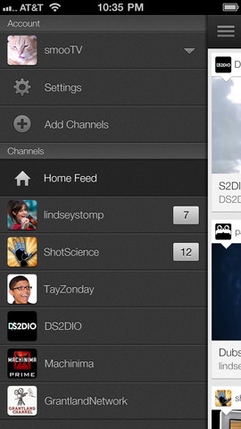 YouTube 1.1.0.4136 for iOS (iPhone screenshot 002)