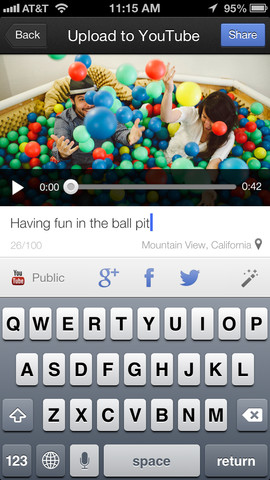YouTube Capture 1.0 for iOS (iPhone screenshot 002)