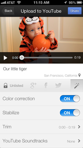 YouTube Capture 1.0 for iOS (iPhone screenshot 003)