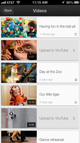 YouTube Capture 1.0 for iOS (iPhone screenshot 004)