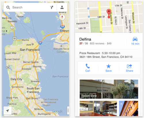 Google admits Google Maps for iOS is better than Android version