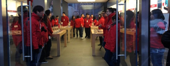 iPhone 5 launch in China 001