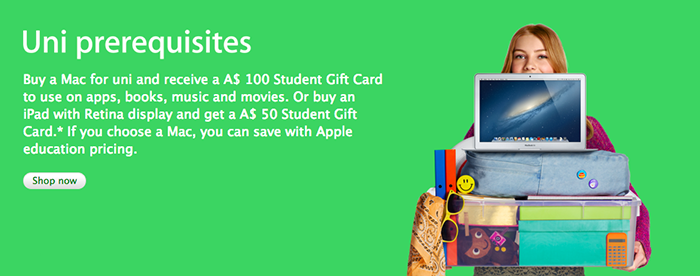 Apple Back to School Australia