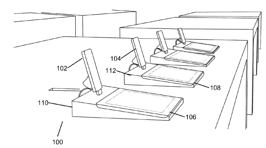 Apple store patent (drawing 001)