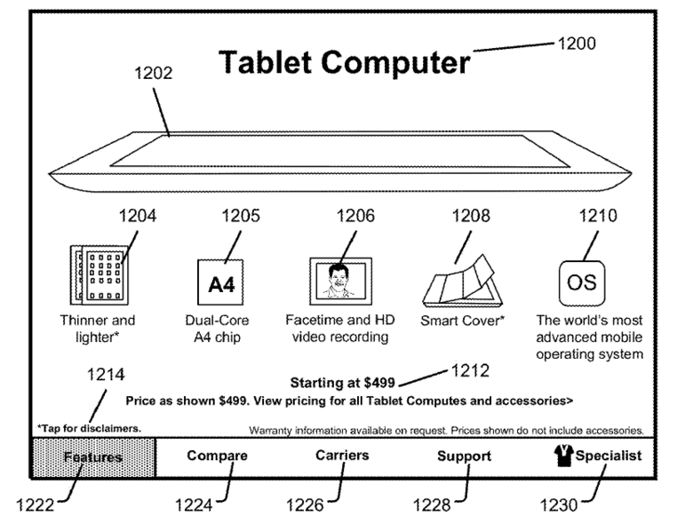 Apple store patent (drawing 003)