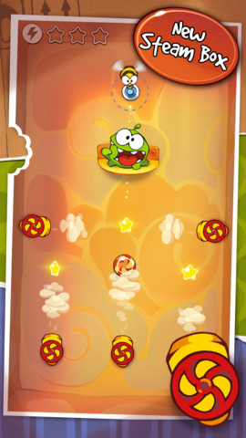 Cut the Rope Steam Box update (iPhone screenshot 001)