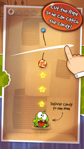 Cut the Rope Steam Box update (iPhone screenshot 002)