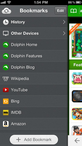 Dolphin 7.0 for iOS (iPhone screenshot 001)