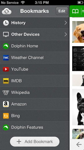 Dolphin 7.0 for iOS (iPhone screenshot 002)