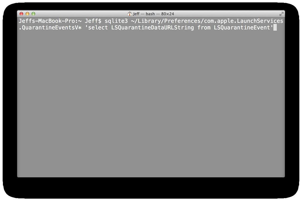 Descargar Terminal OS X