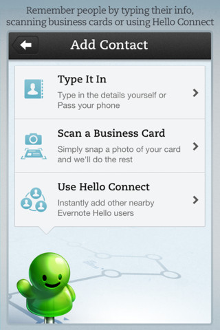 Evernote Hello 2.0 for iOS (iPhone screenshot 001)