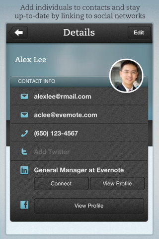 Evernote Hello 2.0 for iOS (iPhone screenshot 002)