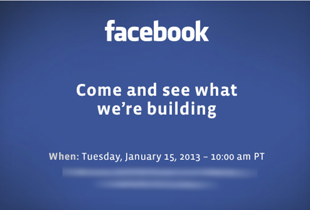 Facebook January 15 event (invite graphics)