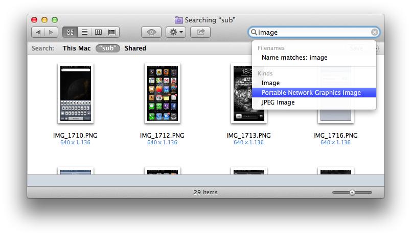 Finder (iCloud Photo Stream Smart Folder 001)