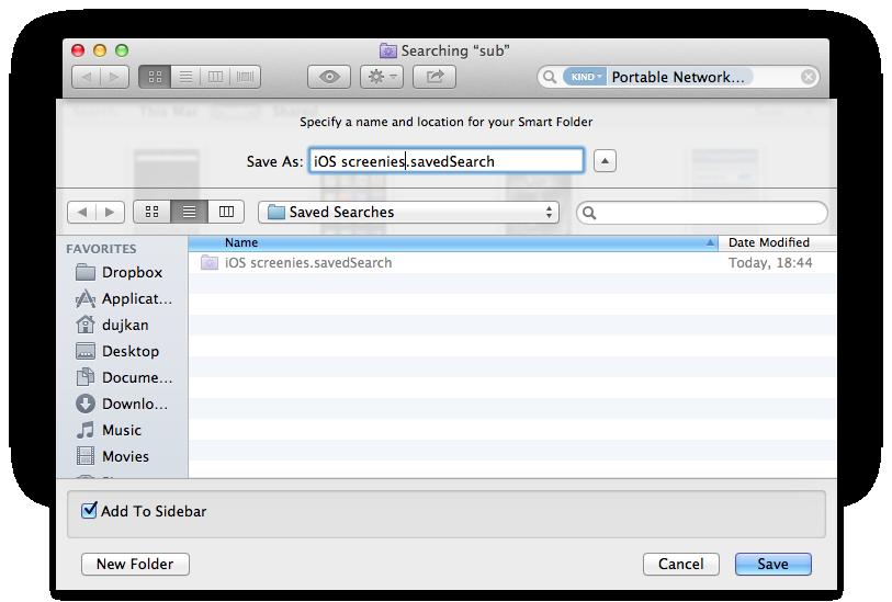 Finder (iCloud Photo Stream Smart Folder 003)