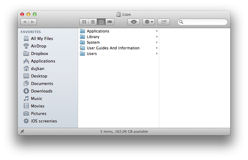 Finder (iCloud Photo Stream Smart Folder 004)