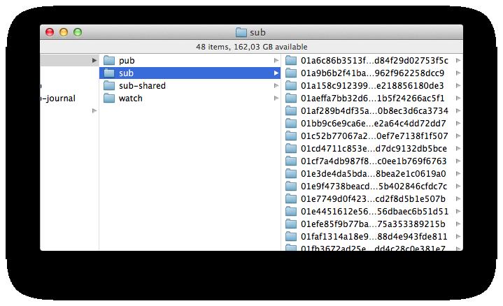 Finder (iCloud Photo Stream sub folder 001)