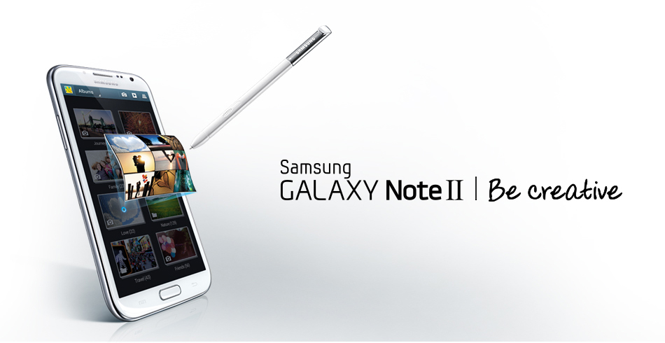 Galaxy Note II (be creative)