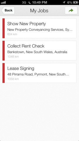 Google Coordinate 1.0 for iOS (iPhone screenshot 002)