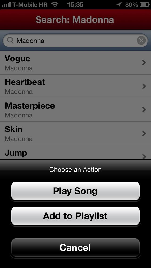 HypedMusic 1.0 for iOS (iPhone screenshot 004)