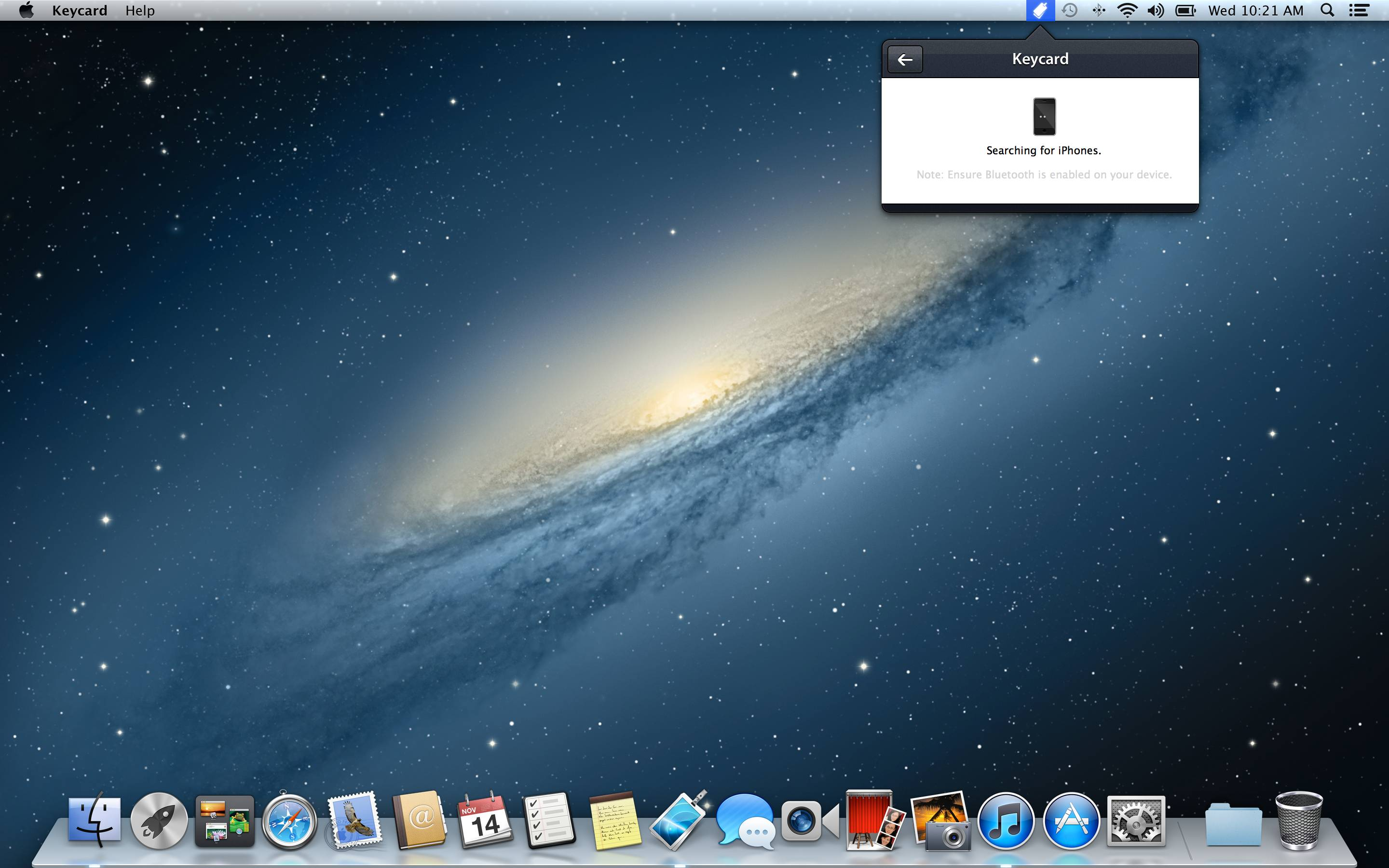 Keycard 1.0 for Mac (screenshot 002)