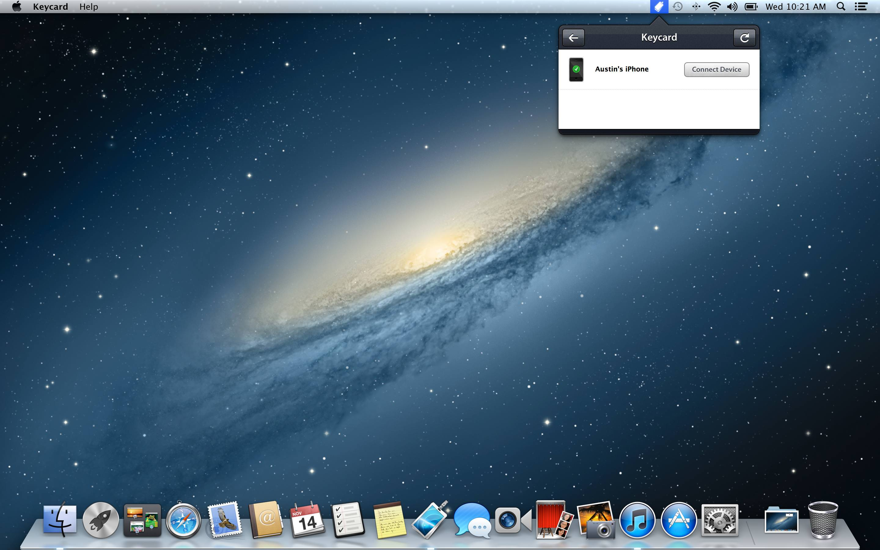 Keycard 1.0 for Mac (screenshot 003)