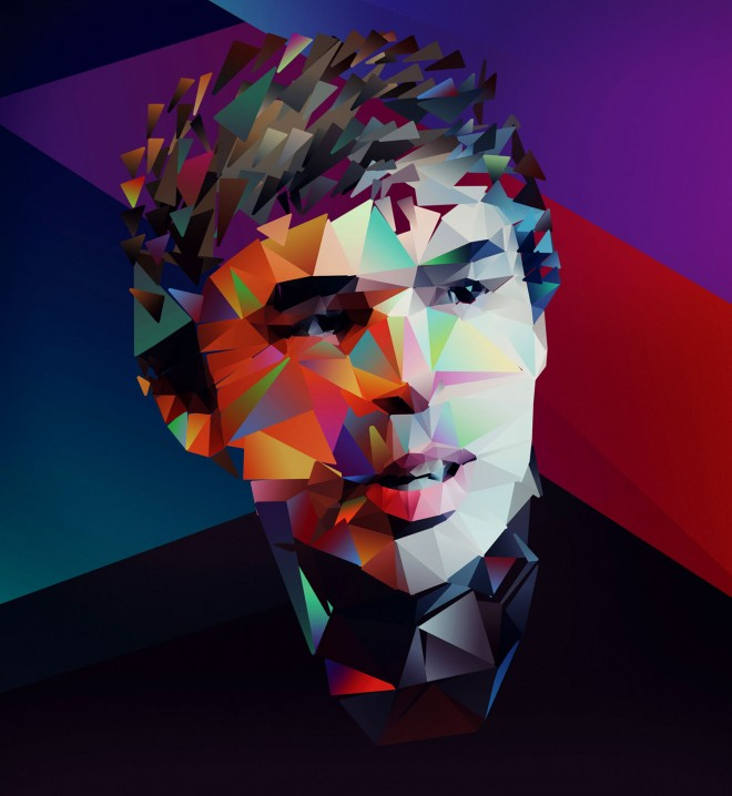 Larry Page illustration (Nicola Felasquez Felaco)