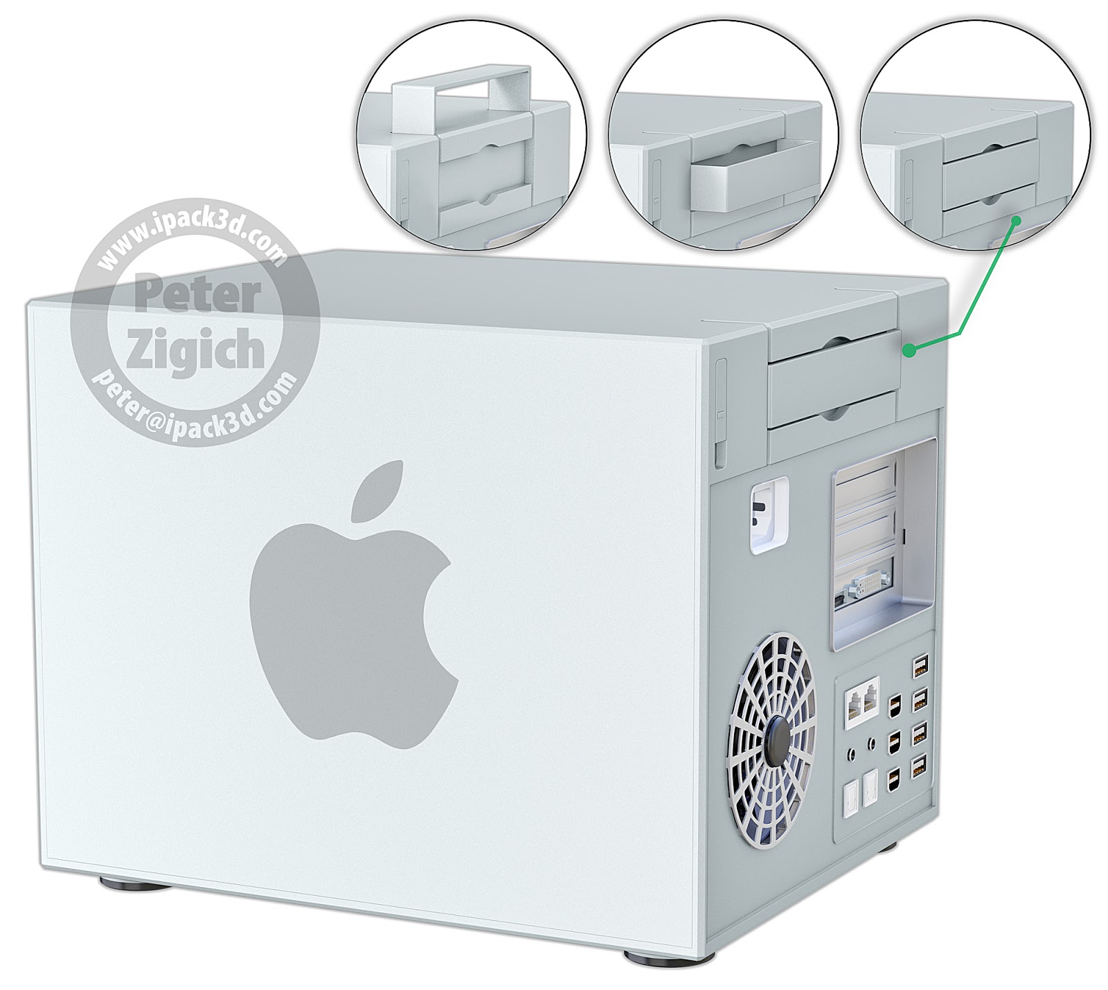 Mac Pro (Peter Zigich concept 001)