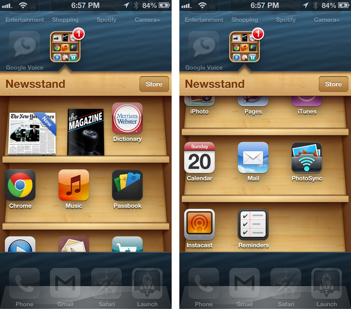 Newsstand Hack infinite icons no jailbreak