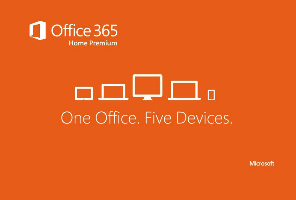 Office 365 Home Premium (One office, five devices)