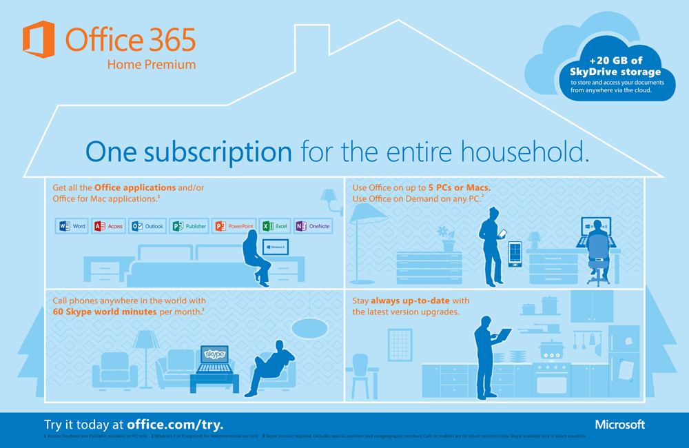 Office 365 Home Premium (Subscription)