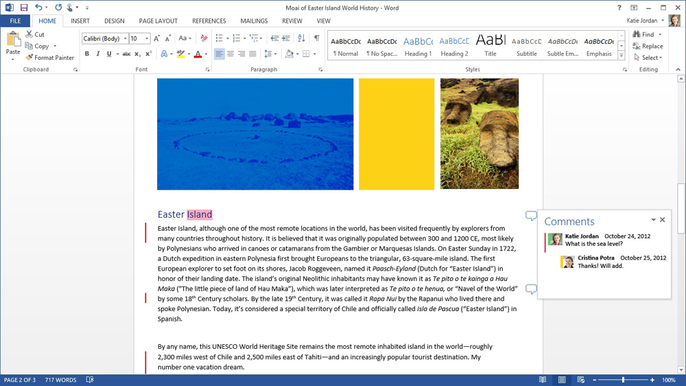 Office 365 Home Premium (Word Simple Mark Up)