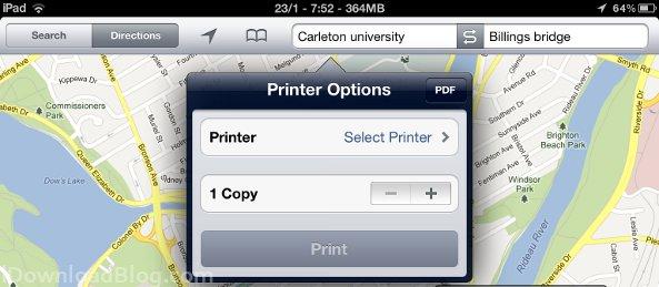PDF printer print
