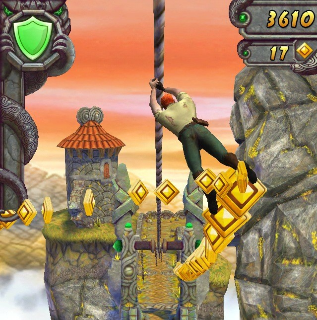 Temple Run 2 for iOS (iPhone screenshot 002)