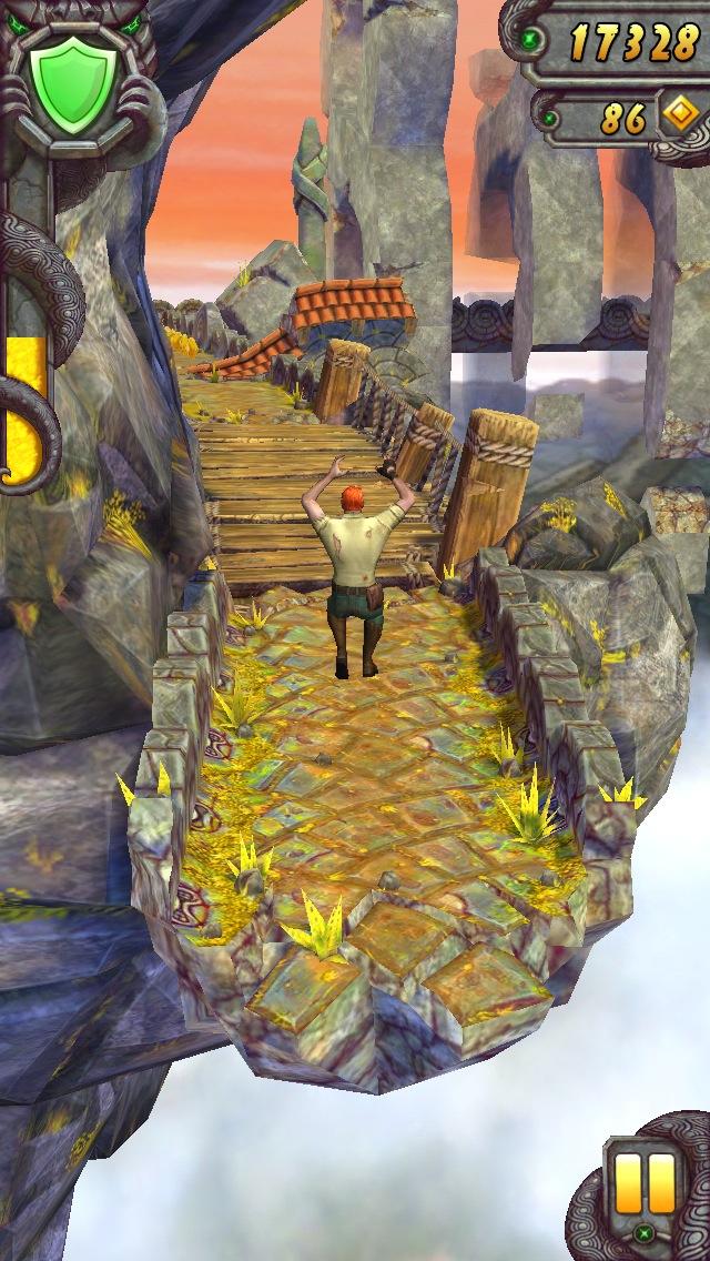 Temple Run 2 for iOS (iPhone screenshot 004)