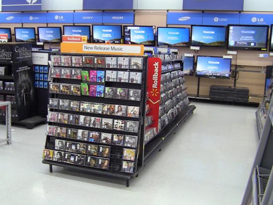Walmart music