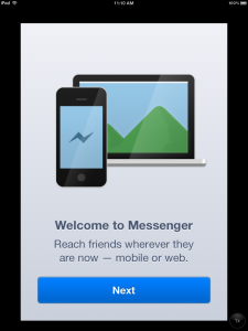 Welcome to Messenger photo